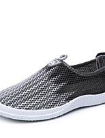 Для мужчин Мокасины и Свитер Удобная обувь Прозрачный обуви Ткань Весна Лето Осень Зима Для прогулок Для офиса Повседневный Для прогулокВ