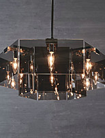 Chandelier ,  Rustic/Lodge Painting Feature for Designers Metal Dining Room Indoor Hallway 6 Bulbs
