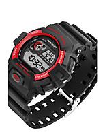 SANDA Homens Relógio Esportivo Relógio Militar Relógio Inteligente Relógio de Moda Relógio de Pulso Japanês DigitalLED Calendário