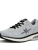 Men's Sneakers Comfort Mary Jane Fabric Spring Summer Athletic Casual Outdoor Comfort Mary Jane Lace-up Flat Heel Black Gray Blue Flat