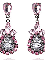 Drop Earrings Rhinestone Women's Girls' Droplets Style Euramerican Fashion Dailywear Party  Movie Jewelry