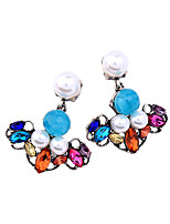 Women's Earrings Set Unique Design Cute Style Fashion Chrome Jewelry 147 Congratulations Party/ Evening Evening Party