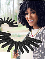 20 inch Synthetic african curls curlkalon hair indian kinky curly hair extension kanekalon crochet braiding hair extension mambo twist ombre hair