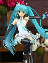 Anime Toimintahahmot Innoittamana Vocaloid Mikuo PVC 20 CM Malli lelut Doll Toy