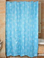 Modern PEVA with High Quality Mildew Bathroom Shower Curtains 180*180CM