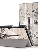 Крышка корпуса pu для huawei mediapad t3 8.0 kob-l09 kob-w09 8 с защитой экрана