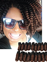 Kanekalon Braiding Hair 20inch ombre Crochet Braids Curlkalon Hair Extension Saniya CURL Bouncy Curly Curlkalon Crochet Hair kinky twist