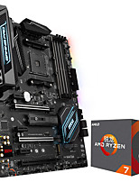 Ryron AMD Ryzen 7 1700X Processor 8-Core AM4 Interface 3.6GHz Boxed  X370 GAMING PRO CARBON Motherboard