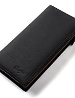 Men Wallets Long Genuine Leather Brand Big Capacity Purse Cowhide Man Day Clutches Bag
