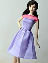 Повседневный Платье Для Кукла Барби Платье Для Девичий игрушки куклы