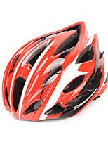 Unisex bicicleta capacete n / a aberturas ciclismo ciclismo / ciclismo de montanha / ciclismo de estrada / ciclismo recreativo um tamanho