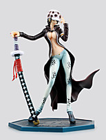 Anime Action Figurer Inspirert av One Piece Trafalgar Law PVC 20 CM Modell Leker Dukke
