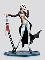 Anime Toimintahahmot Innoittamana One Piece Trafalgar Law PVC 20 CM Malli lelut Doll Toy