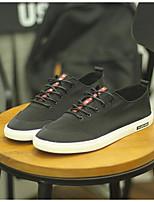 Da uomo Sneakers Comoda Di corda Estate Casual Comoda Nero Grigio Rosso Piatto