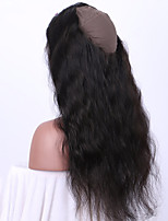 Body Wave 360 Lace Frontal Closure With Baby Hair Natural Color 100% Human Hair Brazilian Remy Hair Stitched Cap