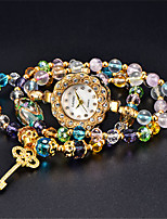 Women's Fashion Watch Quartz Water Resistant / Water Proof Jade Band Multi-Colored