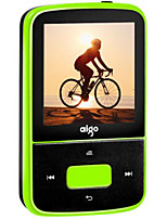 Aigo Bluetooth MP3 Player Portable Mini Pedometer HiFi Lossless Music Player Mini Sports Back Clip Type Recorder