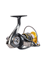 Carrete de la pesca Carretes para pesca spinning 5.2:1 10 Rodamientos de bolas IntercambiablePesca de Mar Pesca al spinning Pesca jigging