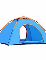 2 personnes Tente Unique Tente automatique Une pièce Tente de camping 2000-3000 mm Résistant à l'humidité Etanche-Camping Voyage