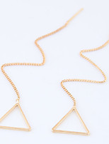 Women's Drop Earrings Euramerican Fashion Alloy Circle Geometric Jewelry 4 Pairs