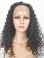 Peruvian Hair   Kinky Curl Hair Wigs Full Lace Human Hair Wigs For Black Women