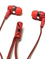 In-ear koptelefoon koptelefoon 3,5 mm met microfoon voor Samsung S4 / S5 / S6 / S7 pc-telefoon