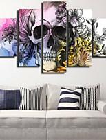 Estampados de Arte Abstrato Moderno,5 Painéis Horizontal Decoração de Parede For Decoração para casa