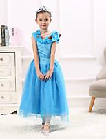 Girl's Animal print Dress,Spandex Summer Short Sleeve