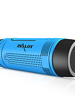 Zealot S1 Bluetooth Speaker Outdoor Bicycle Portable Subwoofer Subwoofer 4000mAh Power With LED Light Bicycle Mount With Hook