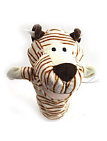 Finger Puppet Novelty & Gag Toys Animal Tiger Plush