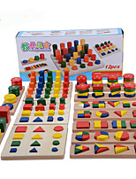 Pegged Puzzles For Gift  Building Blocks Wood 2 to 4 Years 5 to 7 Years Toys