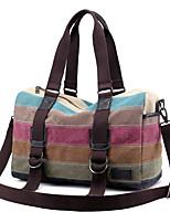 Unisex Shoulder Bag Canvas All Seasons Sports Casual Outdoor Office & Career Professioanl Use Bowling Zipper Dark Fuchsia