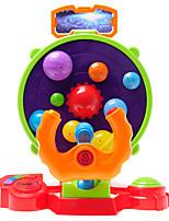 Brinquedo Educativo Brinquedos de Ciência & Descoberta para presente Blocos de Construir Redonda Plásticos 5 a 7 Anos 3-6 anos de idade