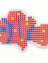 1PCS 5MM Fuse Beads Clear Template Pegboard Stencil Clownfish Nemo Shape Hama Perler Beads Pegboard Kid DIY Handmaking Educational Craft Jigsaw Toy