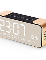 PTH305 Bluetooth Speaker Wireless Stereo Aluminum Portable FM Radio Altavoz Support Time clock Alarm Clock TF Card
