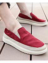 Da uomo Sneakers Comoda Di corda Primavera Quotidiano Casual Rosso Verde Cachi Piatto