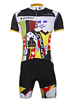 Paladin Sport Men  Cycling Jersey  Shorts Suit DT759