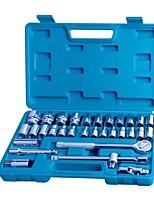 Hongyuan / sostenga el kit de herramienta de la manga de 32 pedazos moleteado / 1 sistema