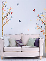 Leisure Wall Stickers Plane Wall Stickers Decorative Wall StickersVinyl Material Home Decoration Wall Decal
