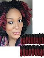 Glamourös & Dramatisch Hochzeit Europäisch Europäischer Stil Curly Flechten Haarverlängerungen Kanekalon Haar Borten