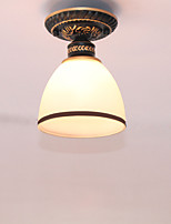 American Style Ceiling Lamp Bedroom Simple  Hallway Lamp Single Head  Retro Ceiling Lamps