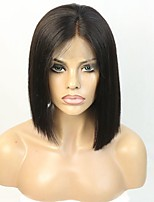 Brazilian virgin hair Short Cut bob wig plucked hair part defined perfectly lace front wig