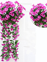 18 Branch/Bouquet Wall Flower Hydrangea Gillyflower Home Decoration Artificial Flower