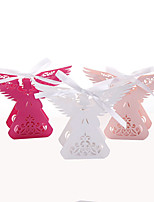 50pcs Wing Angel Candy Box Baby Shower Party Favors Box Gift Box Wedding Favors Box Party Supplies