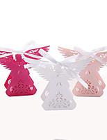50 Шт./набор Фавор держатель-Прочее Розовая бумага Коробочки