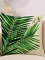 1 Pcs Vintage Bohemia Tropical Plant Printing Pillow Cover 45*45Cm Classic Pillow Case Sofa Cushion Cover