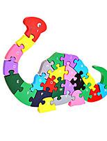 Jigsaw Puzzles DIY KIT Building Blocks DIY Toys Dinosaur Wooden