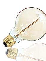 1pcs g95 40w z vintage led ampoule e27 lampe à incandescence lampe à lampe décorative lampe verticale feu de feu artificielle ac110-130v