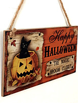 American and European direct selling wooden handicraft Halloween is listed in the wooden ghost festival
