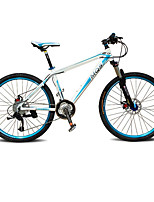 Mountain Bike Cycling 27 Speed 26 Inch/700CC BB5 Disc Brake Suspension Fork Aluminium Alloy Frame Hard-tail FrameAnti-slip Aluminium
